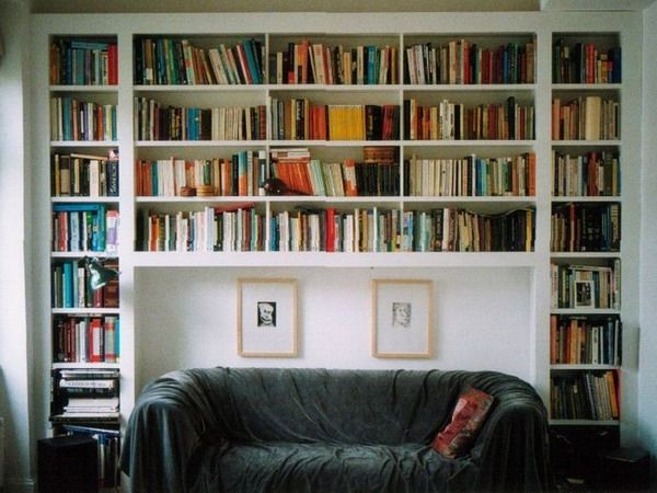 3 Ideas To Use Wall Above Sofa In Living Room Furnish Burnish Bookshelves Built In Wall Bookshelves Bookcase Wall