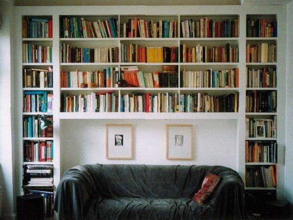 3 Ideas To Use Wall Above Sofa In Living Room Furnish Burnish Bookshelves Built In Wall Bookshelves Shelves