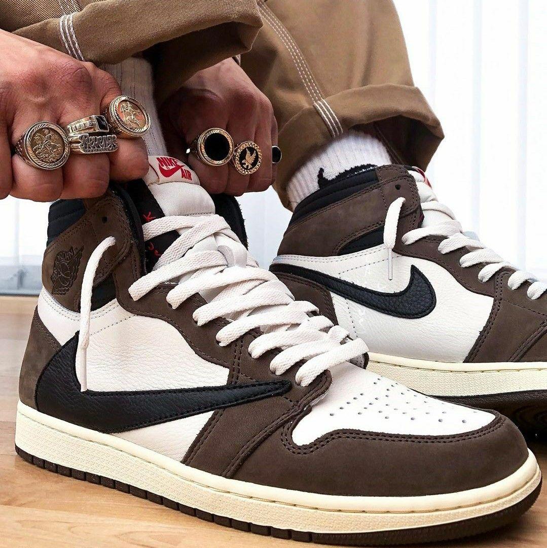 Air Jordan 1 Retro High Travis Scott Cactus Jack 1 800 Travis Scott Shoes Air Jordans Air Jordans Retro