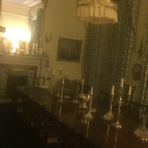 Georgian Dining Room Pushpull Light Silver Candelabra