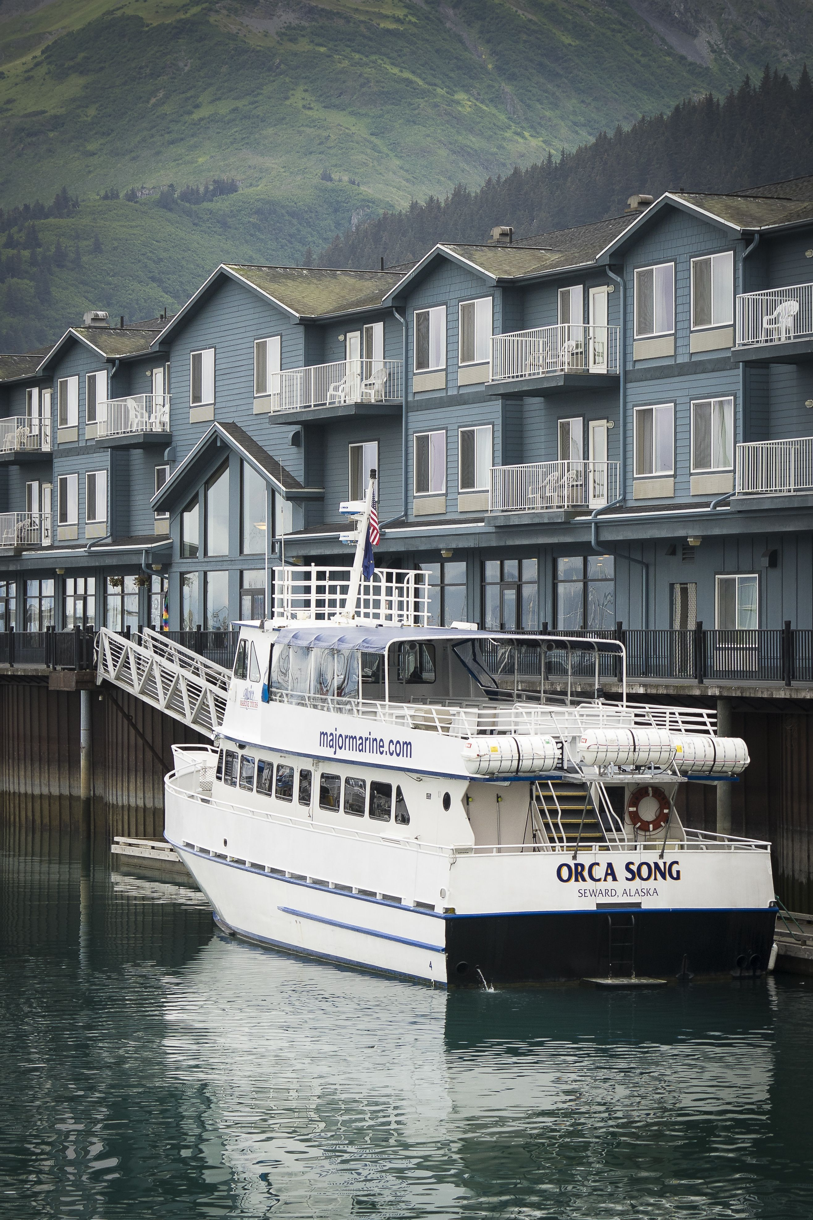 Harbor 360 Hotel Is The Premier Waterfront Hotel In Seward Alaska Located Directly On The Seward Small Boat Harbor On Site Boarding Hotel Alaska Waterfront