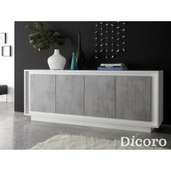 Aparador fly blanco muebles muebles salon modernos for Aparadores modernos baratos