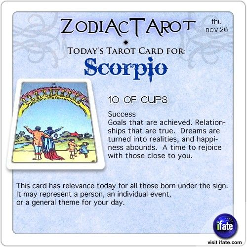 Click on ZodiacTarot! for all of today's zodiac tarot cards. Come and get more super-awesome astrology and horoscope erudition over at ifate.com