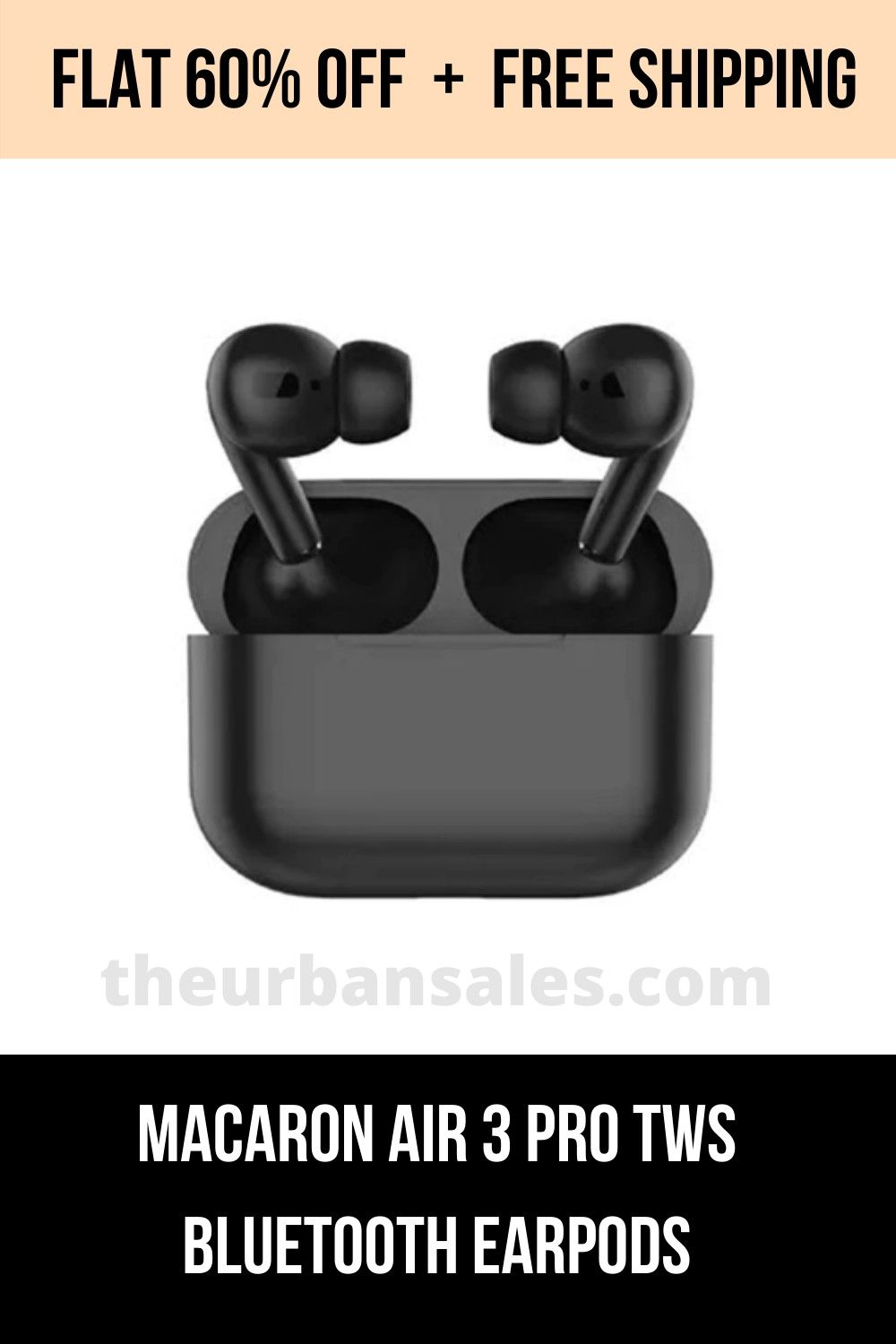 Macaron Air 3 Pro Tws Bluetooth Earpods The Urban Sales Bluetooth Hifi Stereo Headphones