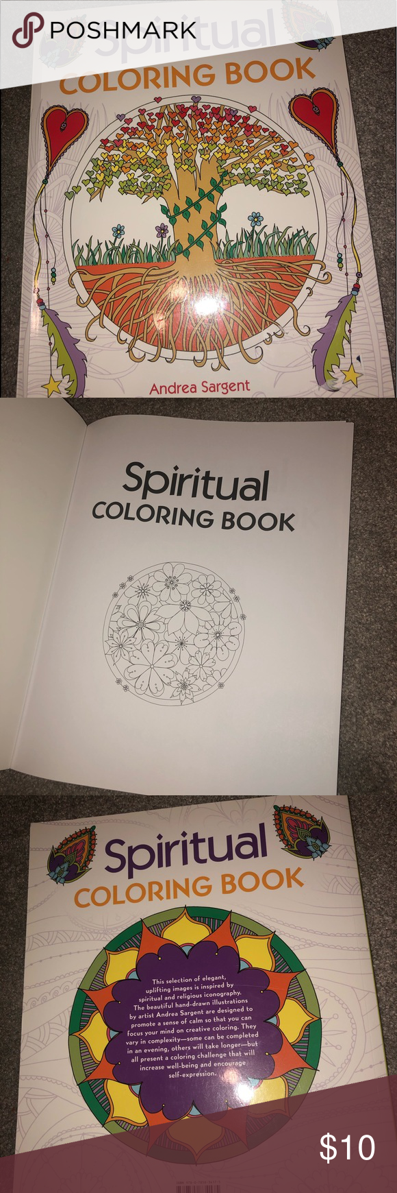 Adult coloring book Never used! In perfect condition! Chronicle Books Other #myposhpicks