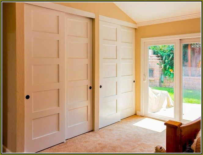 Sliding Double Closet Doors Roselawnlutheran