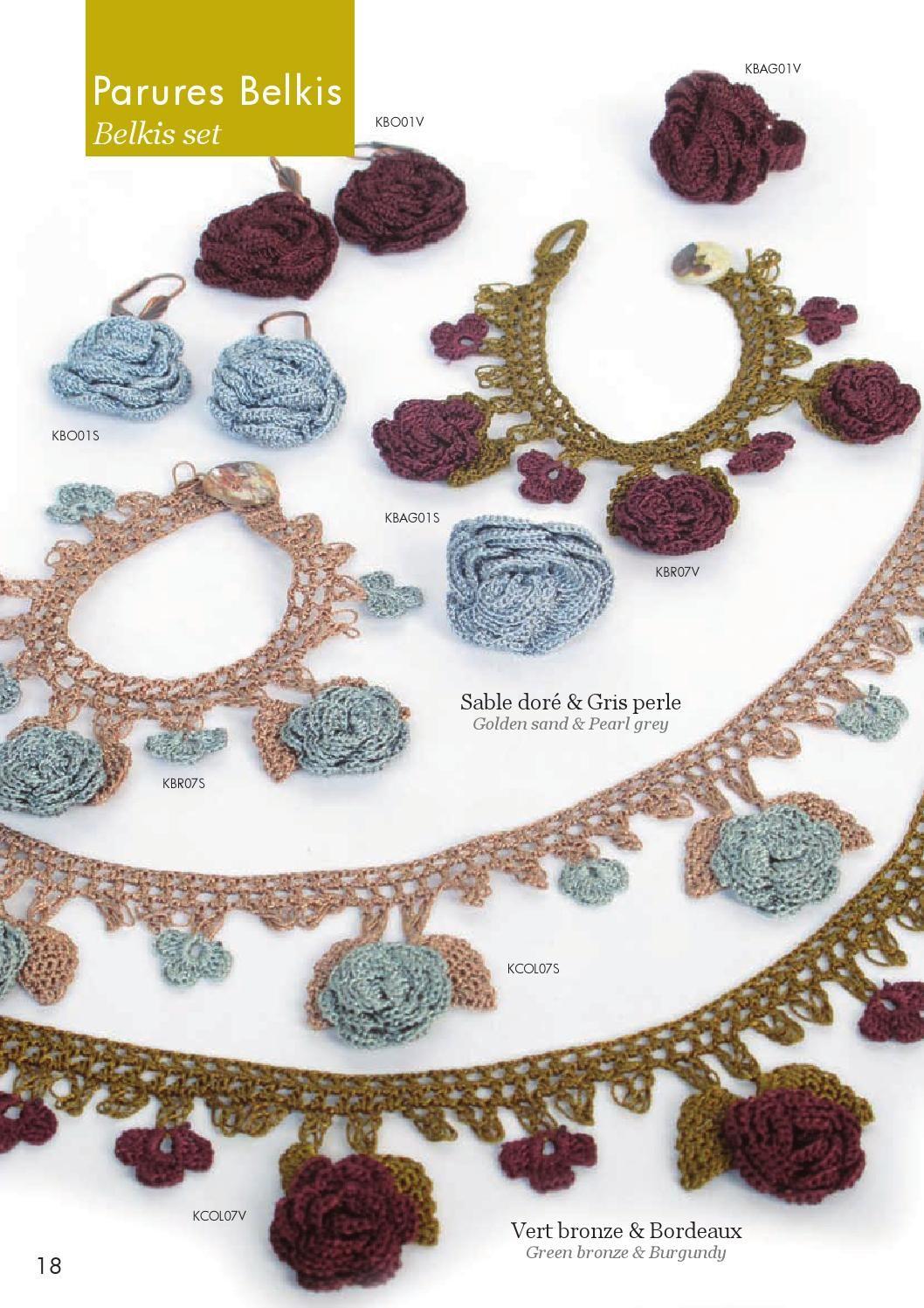Modelos de Bisuteria Bijoux oya | todo tejidos | Pinterest | Crochet ...