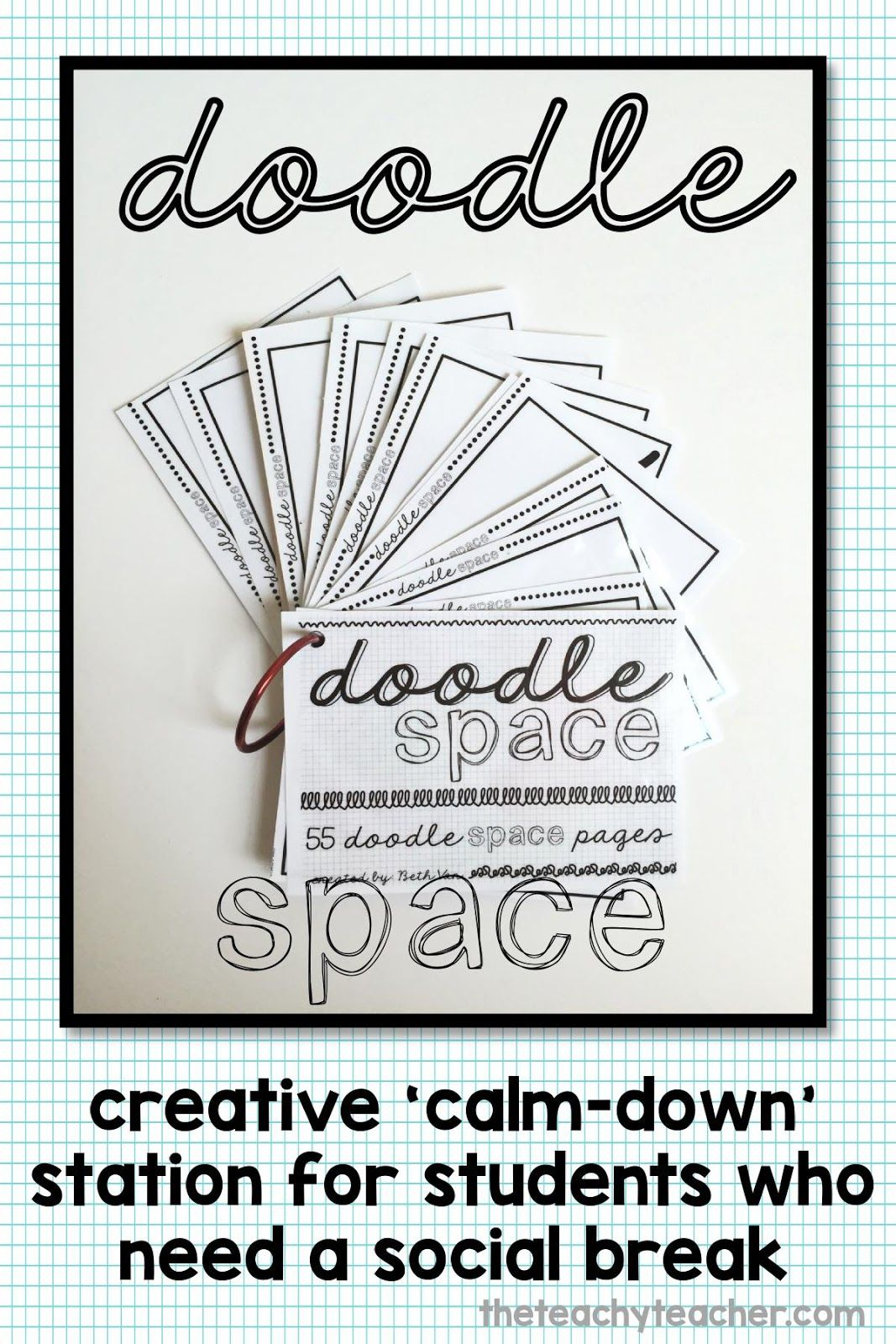 Doodle Pages For Rainy Day Recesses Students Who Need A