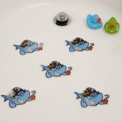 Tub Stickers, Non-slip Stickers - Sharks (5 Pack)