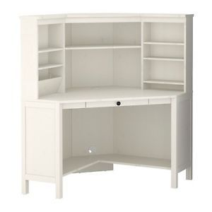 Ikea Hemnes White Tall Corner Desk Corner Workstation White Corner Desk Room Furniture