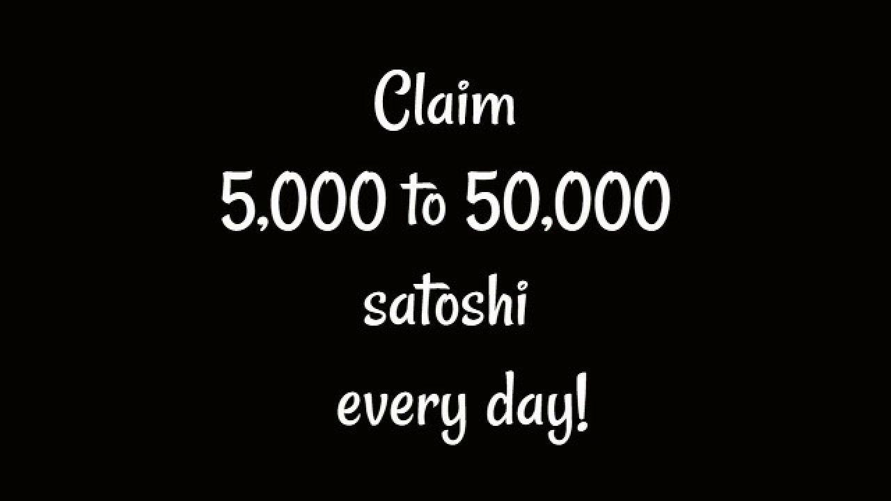 5000 satoshi iki bitcoin