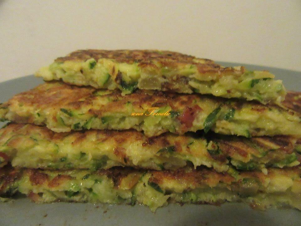 Palačinke s tikvicama / Pancakes with zucchini