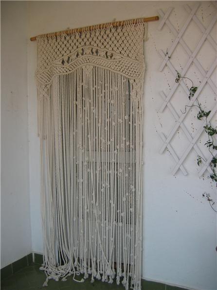 Cortina Macrame Macrame Design Macrame Curtain Macrame