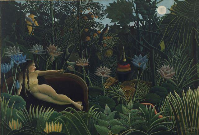 Peaceable Kingdom Rousseau Google Search Dream Painting Henri Rousseau Museum Of Modern Art
