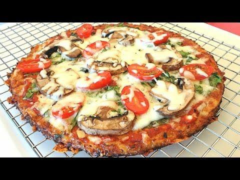 The Best Cauliflower Pizza Crust Recipe That Wont Fall