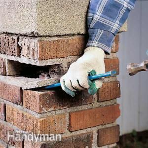 How To Reset A Loose Brick Brick Cleaner Bricks And