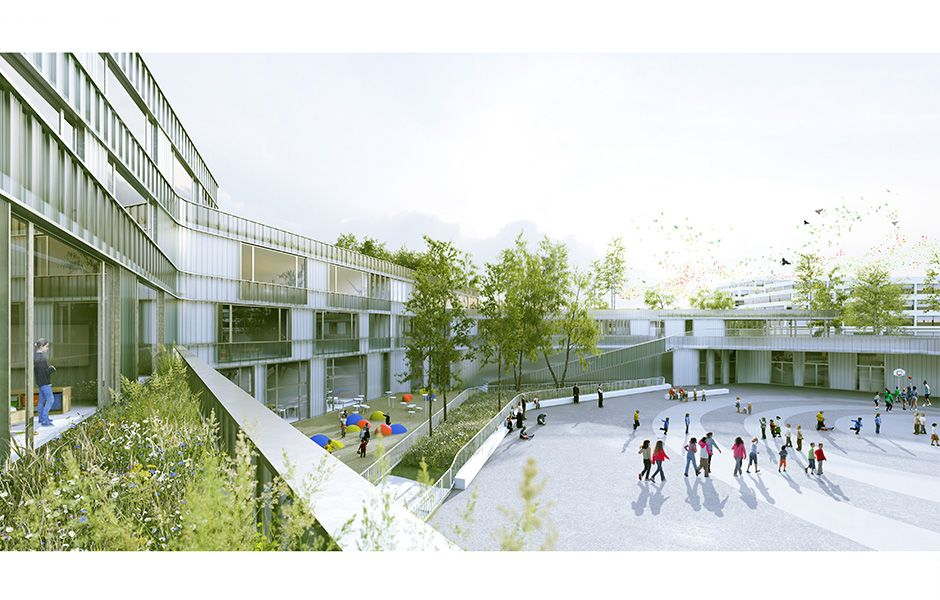 APGS Groupe Scolaire 24 classes | chartier dalix | Green ...
