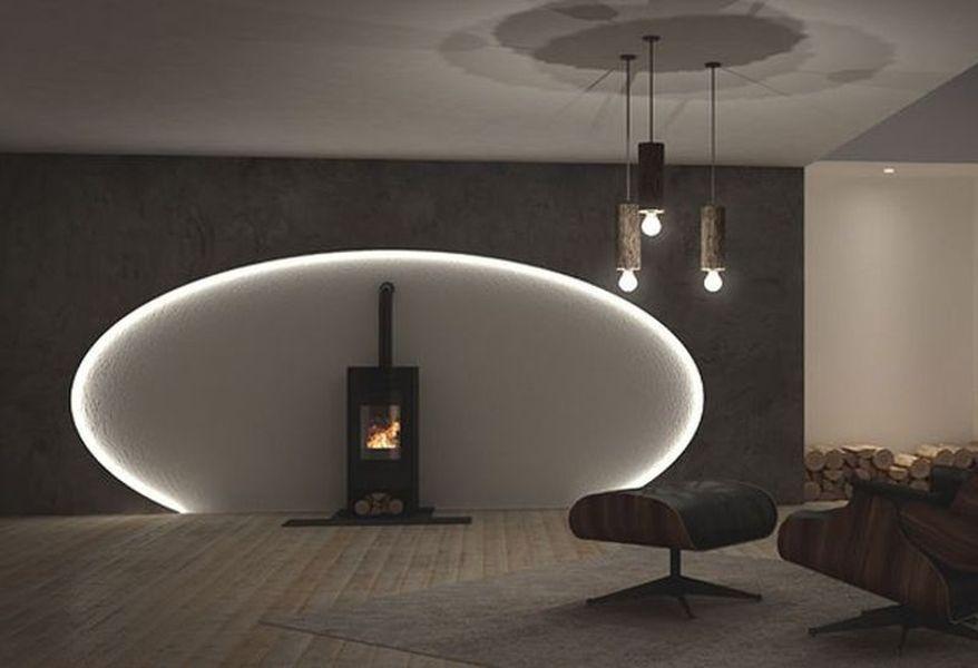 Lichteffekte Fur Deckengestaltung Und Wandgestaltung Wohnzimmer Design Wohnzimmer Licht Wohnzimmerbeleuchtung