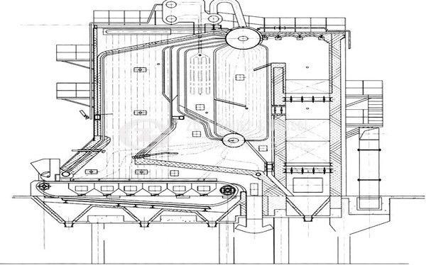 cfbb coal fired boiler diagram industrial boiler www zzboiler org