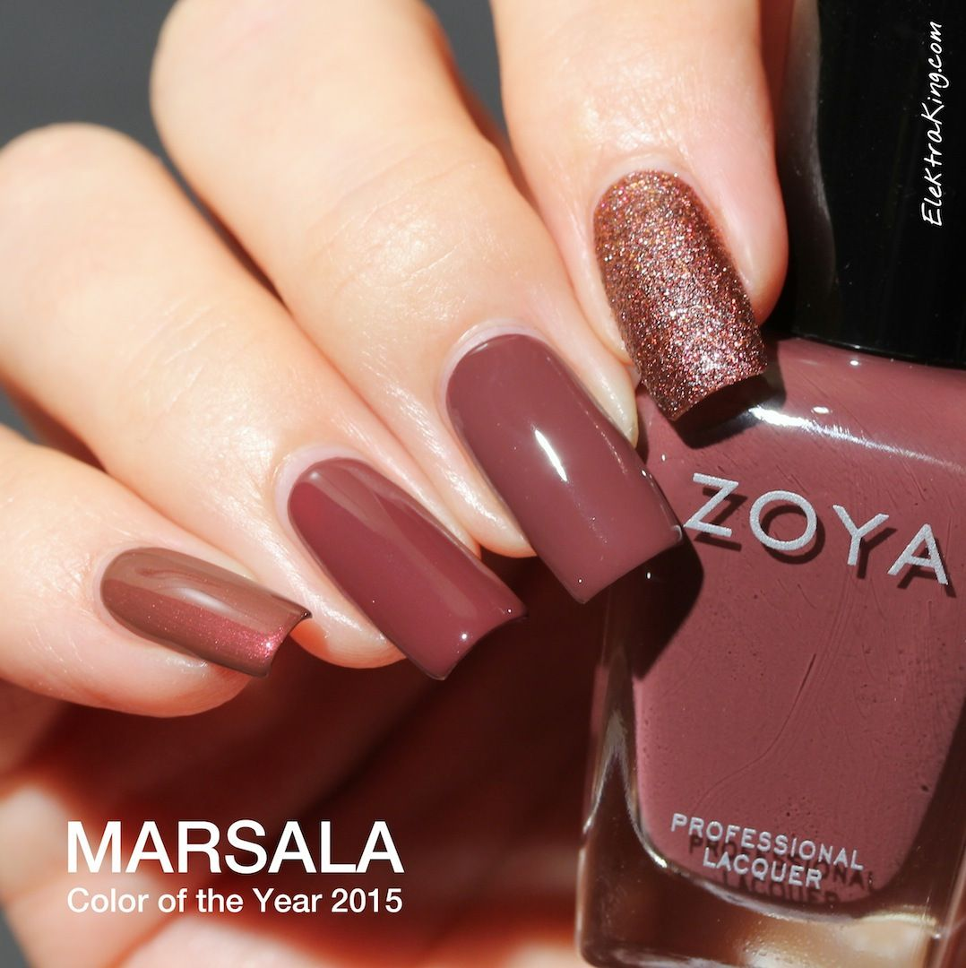 Nail Polish Color Marsala | Tecnologia | Pinterest | December