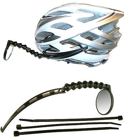 Mirrors 111264 Efficient Velo Tools Safe Zone Bicycle Helmet Mirror