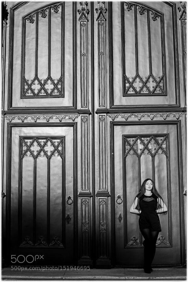 beauty at the front door by JoseCarlos777