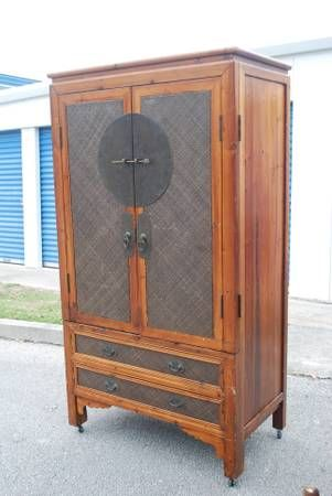 Asian contemporary cabinet, St. Augustine, FL- $400