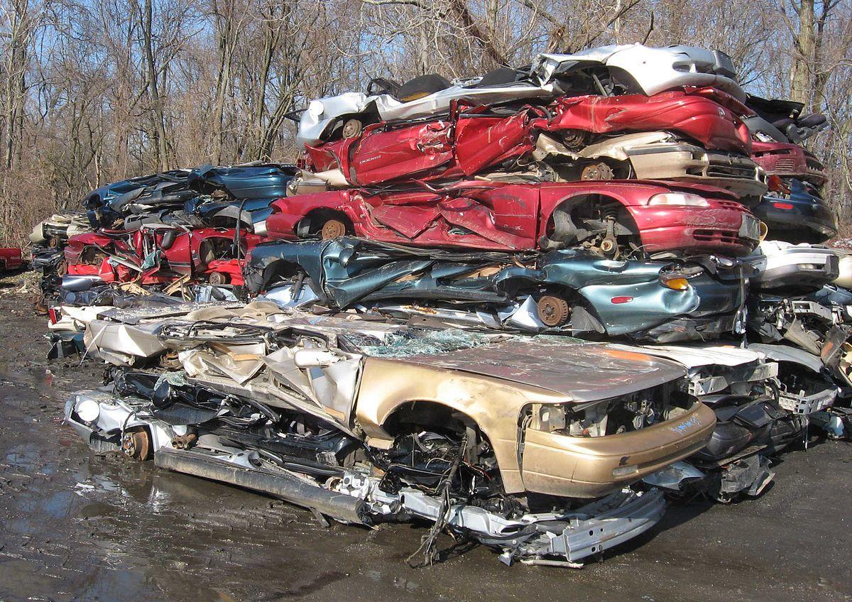 Vehicle recycling Wikipedia Scrap car, Car buyer, Car
