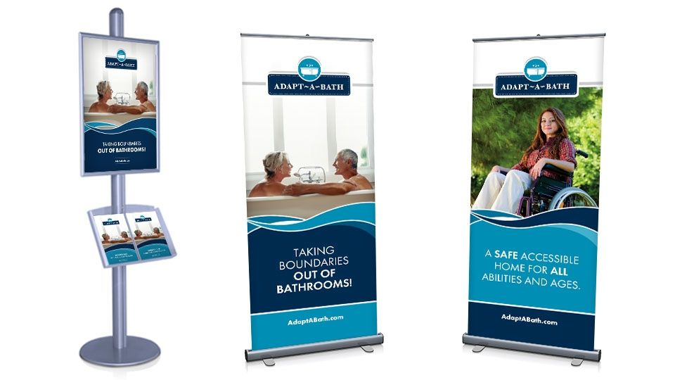 Pop-Up Banner & Info Board Display Design for Client Adapt-A ...