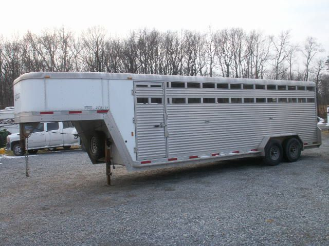 USED EXISS GOOSENECK STOCK TRAILER $11,999.00 | Horse Trailers For Sale | Stock trailer ...