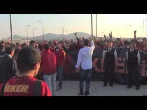 Galatasaray Gazipaşa Havalimanı'nda