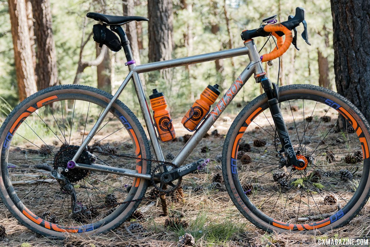 Gravel Bike Ntp Bikes Front Suspension Titanium Cyclocross Gravel