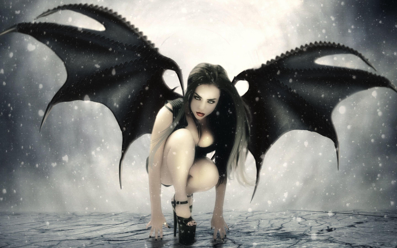 Обои Фантастика, падший ангел, крылья. Фантастика foto 17