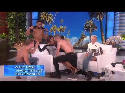 100 The Ellen Show Sep 8 2017 Halle Berry Gets A Magic Surprise From Co Star Channing Dean Otto Youtube