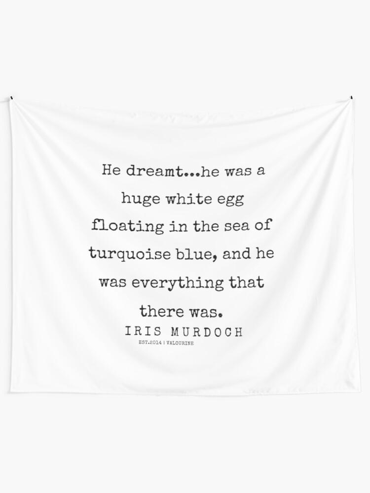 72 | 200422 | Iris Murdoch Quotes  Tapestry by valourine
