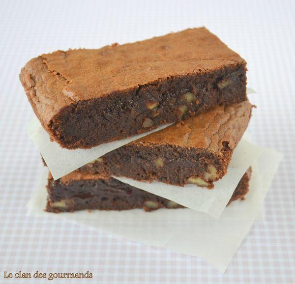 Brownies aux noix de pécan - Le clan des gourmands