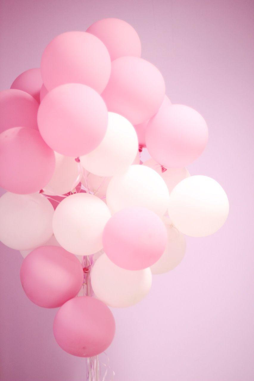 Balloons | Tumblr | Pastel Pink Wallpaper, Pink Wallpaper Iphone, Pink  Wallpaper