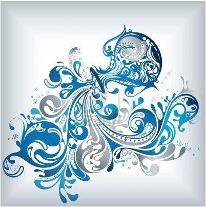 Verseau Uzor Aquarius Tattoo Aquarius Art Tattoos