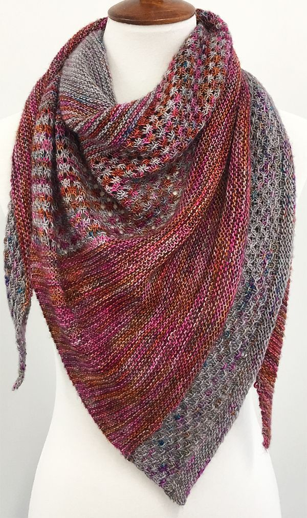 Photo of Free until Jan 1, 2020 Knitting Pattern for Exordium Shawl – Stricken ist so ein…
