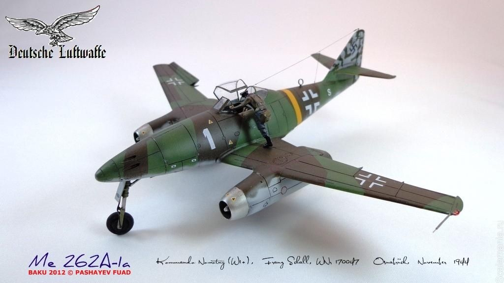 Revell 1:72 Me 262A-1a http://www.britmodeller.com/forums/index.php?/topic/234938558-172-me-262a-1a-and-me-262b-1au1-from-revell/