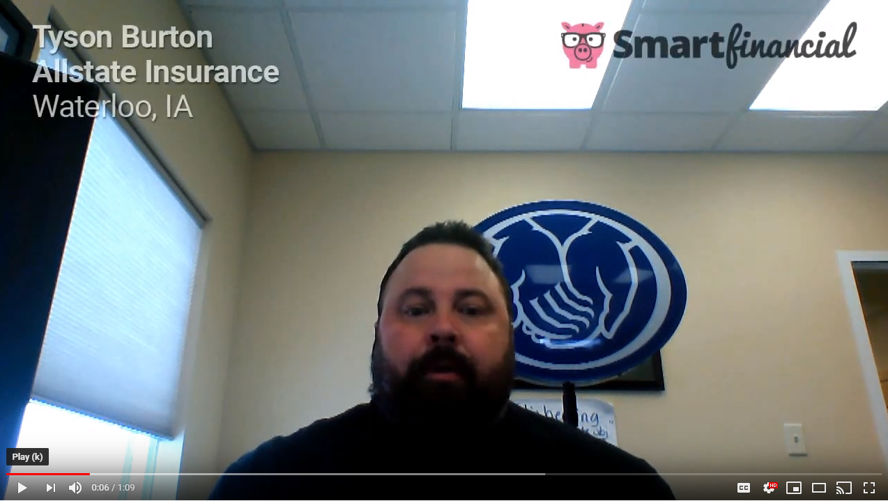 Tyson Burton Of Allstate Insurance Explains How To Get Leads And