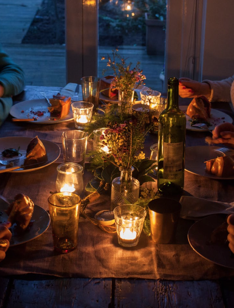 evening table | TOP 10 VEGETARIAN CHRISTMAS IDEAS | Pinterest | Recipies