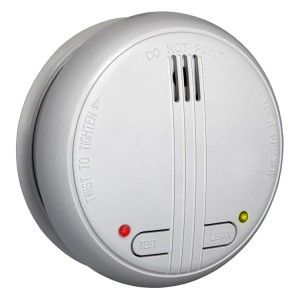 Wireless Smoke Detectors For Fire Safety And Security Installing Wireless Smoke Detectors In Your Living Room Kitc Smoke Detector Detector Smoke Detectors