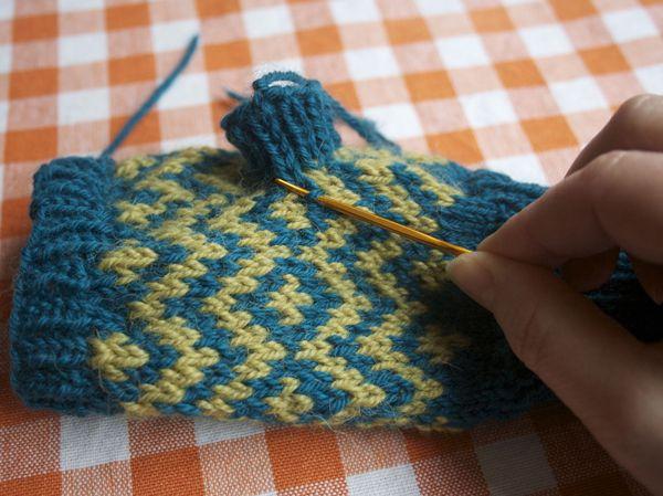 Knitting Socks Tutorial : Short row heel tutorial how to knit a for toe up socks