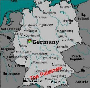 1700s map of germany google search