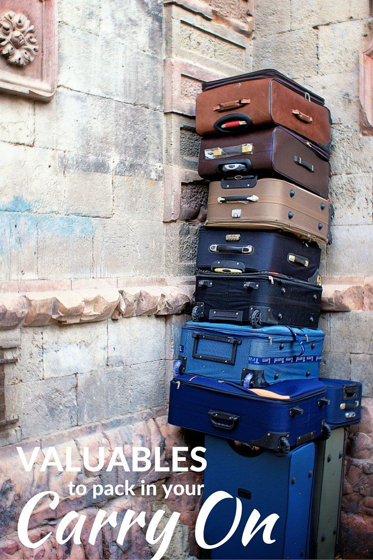 Wondering what valuables to pack in your carry on bags? This guide will help you make up your mind. | travel trip advice