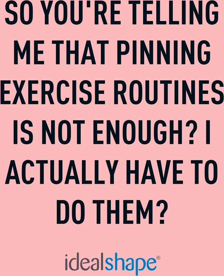 Pinterest Exercise Motivation Funny Humor Idealshape In 2020 Workout Quotes Funny Fitness Motivation Quotes Workout Motivation Women