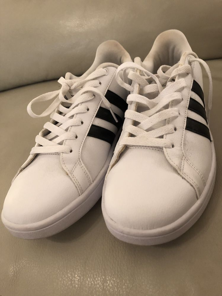 Adidas Women s Vs Pace Ankle-High Leather Fashion Sneaker  fashion   clothing  shoes  accessories  womensshoes  athleticshoes (ebay link) 91a17c796