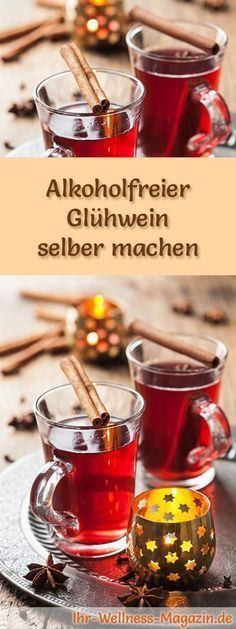 Photo of Make non-alcoholic mulled wine yourself – recipe for a hot winter drink