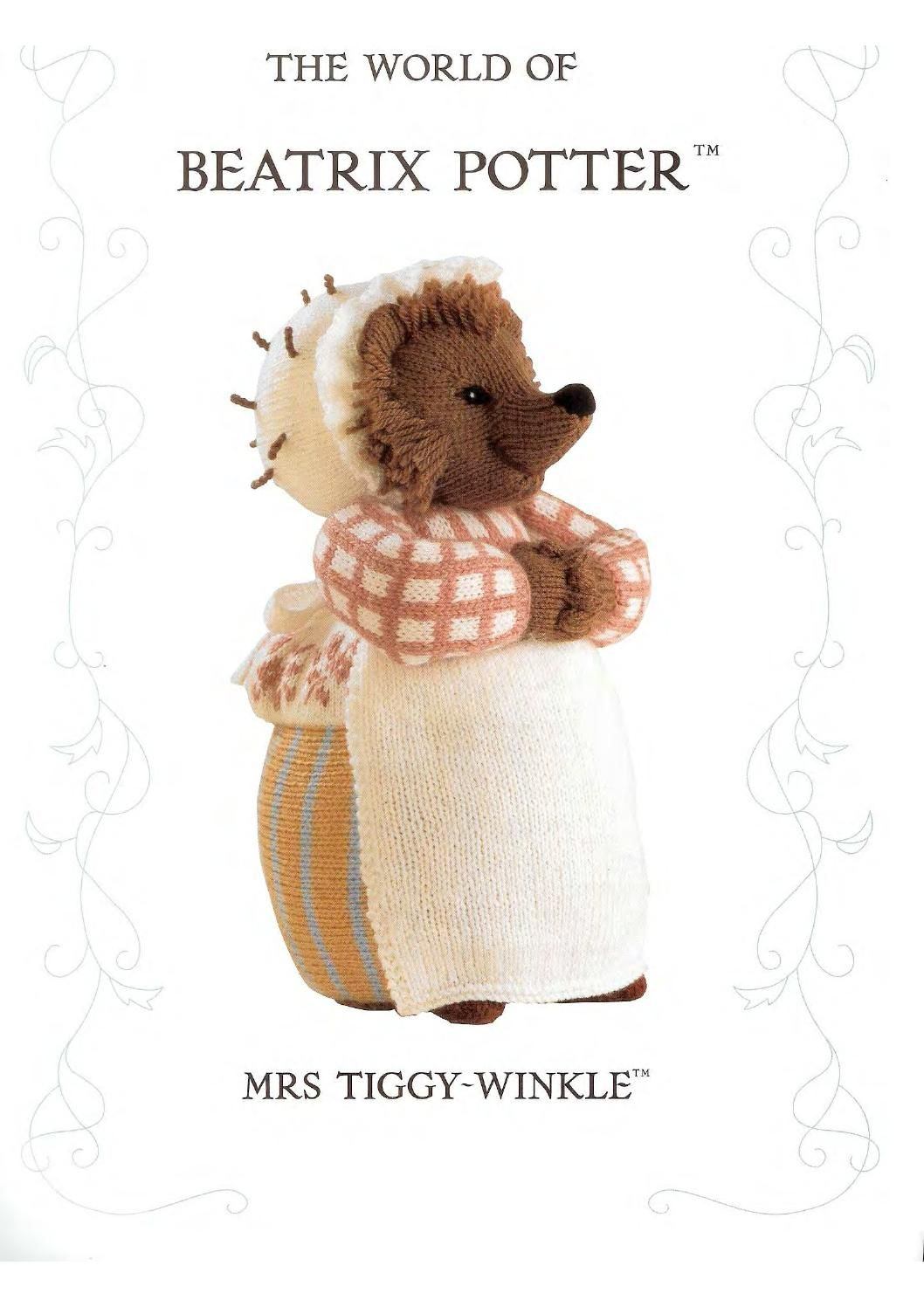 Knit the world of beatrix potter mrs tiggy winkle by FREE Magazine ...